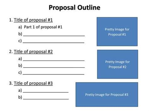 Thesis Proposals Communication